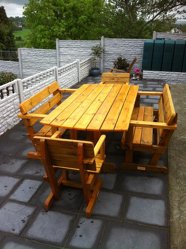JPG; Click To Enlarge Image 8 Seater Garden Furniture Set 2.